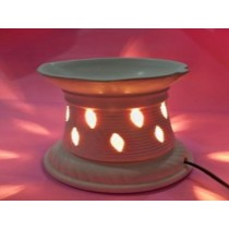 Attractive shape with brownish design  AROMA LAMP SETS size-5 inch