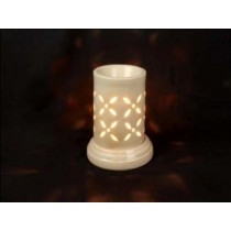 Attractive shape with cream color design AROMA LAMP SETS size-6 inch