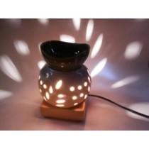 Ceramic Aroma Lamp 7 Inch