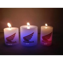 Corporate LED CANDLES 3x8''pillar