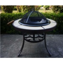 Fire pit for Garden Patio Size 74 x 74 x 57cm