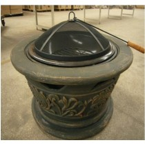 Fire pit for outdoor patio, 55.80 x 55.80 x 57cm
