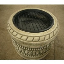 """Fire pit for garden patio 30 x 30 x 24"""""""