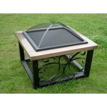 "Fire pit for outdoor patio, Size 27""L X27""W X33.5""H"