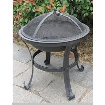 Fire pit for outdoor patio, size:71 x 71 x 57cm