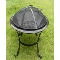 "Fire Pit for Garden Patio, size  size: L 61 x W 61 x H 45CM  24"""