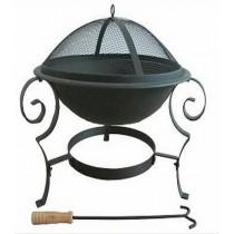 Fire pit for garden patio, 70 x 70 x 52 cm.