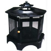 Fire Pit for Garden Patio with cooking grill, 72 x 62 x 116 cm.