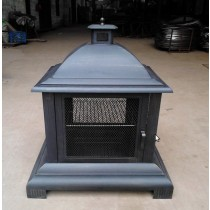Garden Fire pit with cooking grill, 72 x 62 x 103.5 cm