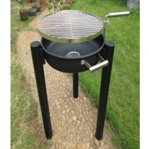 Garden Fire pit with cooking grill