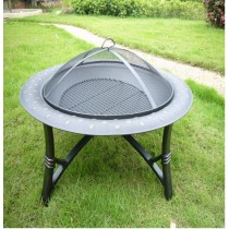 Fire pit for garden with long legs , size89 x 54cm