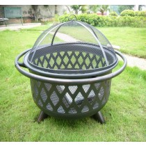 "Fire pit for garden patio, size: 29"" x 35.5"""