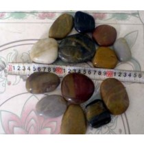 Natural River Pebble Stone five color, Size 3 to 5cm