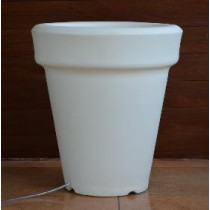 Slim Line White Marble/Sand Stone Planter without light height 900mm.
