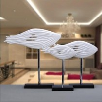 Italia resin fish home decor (B)