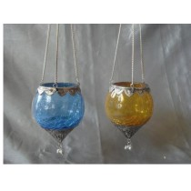 Kraftorium Pretty Hanging Candle Holder Size-5 X 4