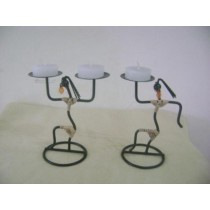 Lady Candle Holders