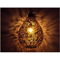 Large Size Balloon lamp-zebra etching
