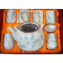 Light Colored Tea Set
