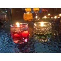 Multicolor Gel Candles
