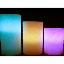 RGB LED candle light  with 18 key reomte control