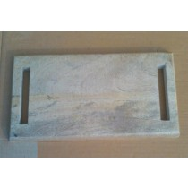Oak Wooden Chopping Board With Two Handle