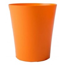 Orange Color Highlight Round Long Pot