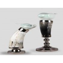 Ox horn candlestick of love (B)