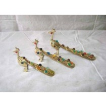 Peacock set of 3