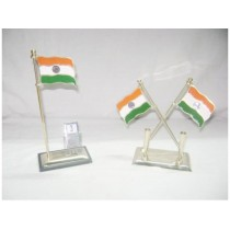 Pen Stand with Indian Flag -1
