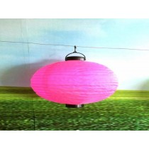 Pink Ball -solar powered decoration garden lantern light