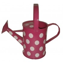 Pink Color Polka Dots Watering Can