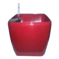 Plastic Square Round Self-Watering Planter