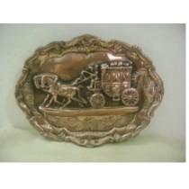 Plate Horse cart