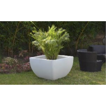 White Marble/Sand Stone Planter Without Lighting