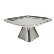 Polished Metal Aluminum Cake Stand