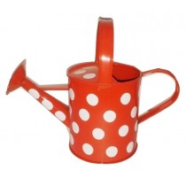Polka Dot 9 Inch Watering Can