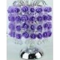 Purple Metal Rose Fragrance Lamp