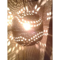 bright lightning hanging ball lantern