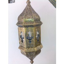 Traditional floral design lantern
