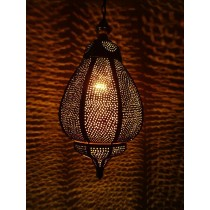 Brown colour unique design lantern