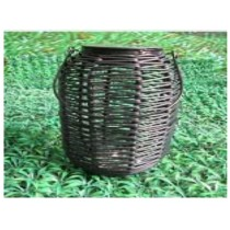 Rattan solar lamp outdoor