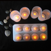 Rechargeable LED candle-8pcs
