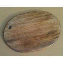 Rectangle Round Oak Wooden Chopping Board
