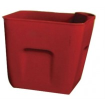 Red Finish 23.5 cm Self Watering Planter