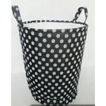 Round Cotton Fabric Laundry Bag