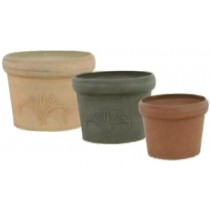 Round Shaped 9.2cm Height Stone Planters