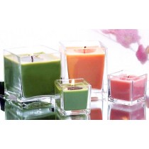 Multicolor Scented Glass Jar Candles