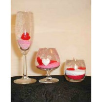 Set of 3 Gel Candles