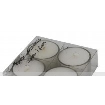 Set of 4 Scented Glass Jar Candles
